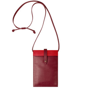 Smart Bag Mobile Bag Smartphone Handytasche ChiChiFan Leder Nappaleder Rindsleder Mode Büro Accessoire Chapeau Marén Hamburg Hafencity Elbphilharmonie