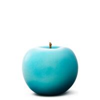 Designobjekt Apfel türkis Keramik lasiert glänzend handgefertigt Wohnaccessoire Dekoration Chapeau Marén Hamburg Hafencity Elbphilharmonie
