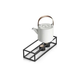 Cubo Stövchen rechteckig Teelichthalter Magnetisch Stahl pulverbeschichtet Philippi Design Wohnaccessoire Chapeau Marén Hamburg Hafencity Elbphilharmonie