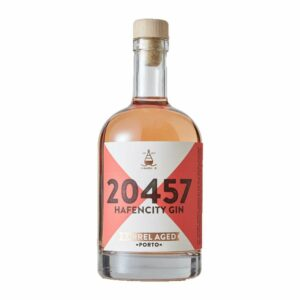 Hafencity Gin Barrel Aged Porto Limited Edition Portwein Zwetschgen Kakao Haselnuss London Dry Gin Spirit Chapeau Marén Tom und Konsorten Hamburg Elbphilharmonie