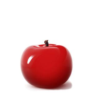 Designobjekt Apfel rot Keramik lasiert glänzend handgefertigt Wohnaccessoire Dekoration Chapeau Marén Hamburg Hafencity Elbphilharmonie