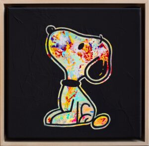 Kunst Gemälde Original Unikat Temorscha Zoltani Snoopy Disney Klassiker Leinwand Acryl 2020 Wohnaccessoire Dekoration Chapeau Marén Hamburg Hafencity Elbphilharmonie