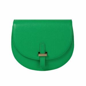Halfmoon Bag Umhängetasche Handtasche Tasche Rindsleder Messingschließe ChiChiFan Mode Accessoire Chapeau Marén Hamburg Hafencity Elbphilharmonie